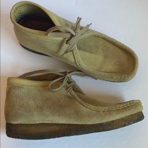 Original Clark's Wallabees chukka boots sz 9.5